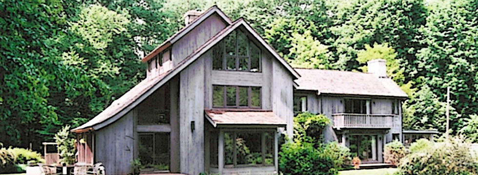 Large connecticut home of and designed by Connecticut architect John Milnes Baker, AIA