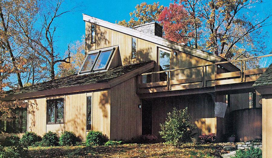 Herzog House by John Milnes Baker, AIA